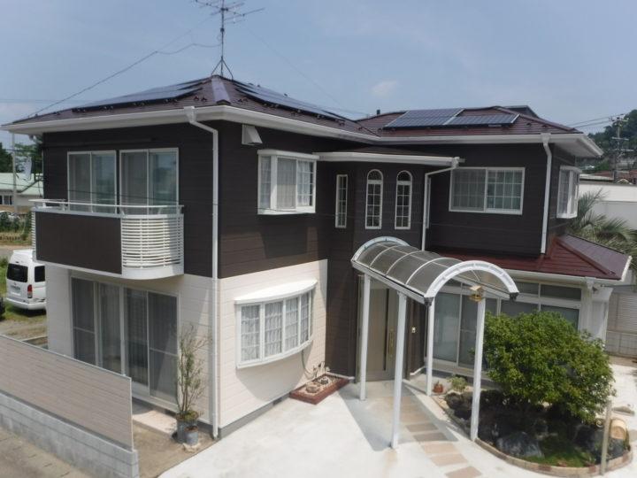 【福島市】K様邸 屋根塗装・外壁・付帯塗装