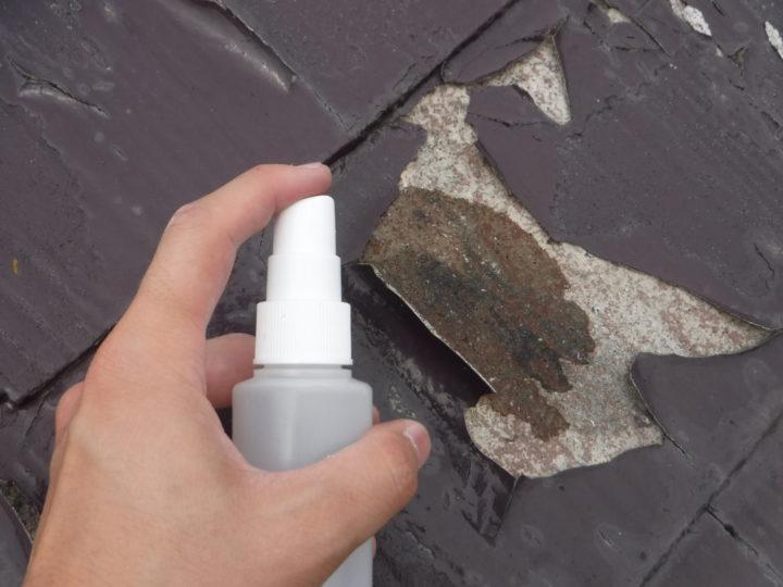 屋根の葺き替えの施工前