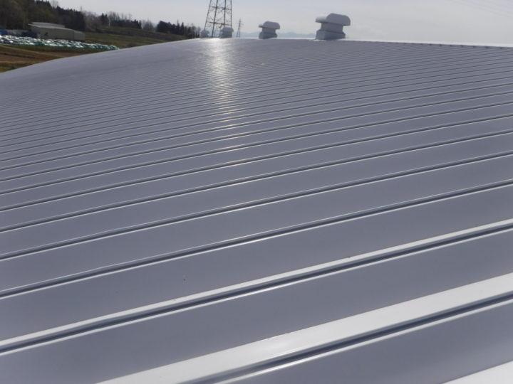 屋根塗装の施工完了
