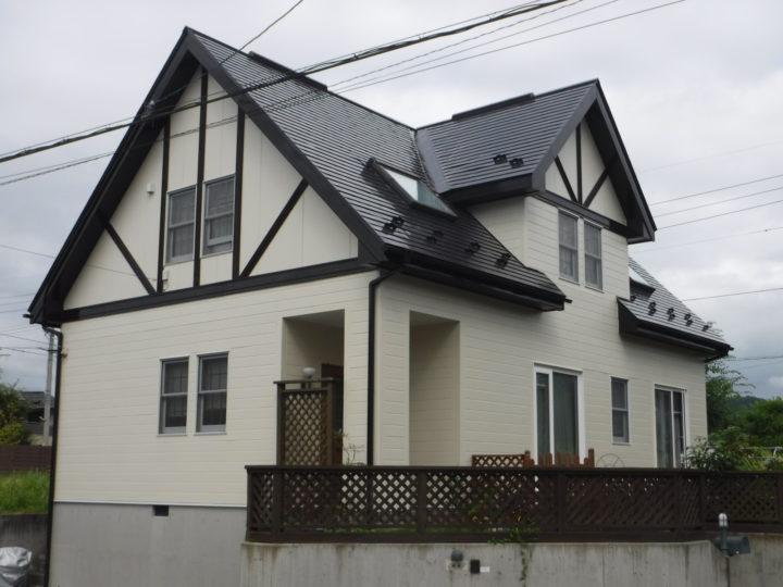 【郡山市】屋根塗装 、外壁塗装、付帯塗装  K様邸