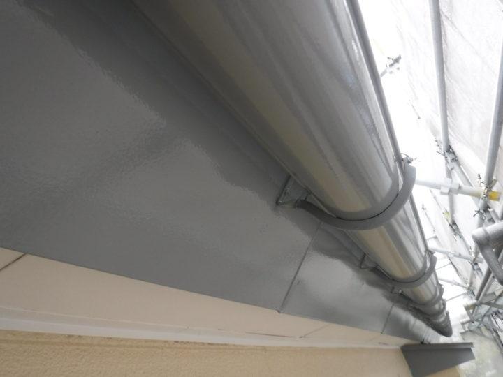 屋根塗装の付帯塗装完了
