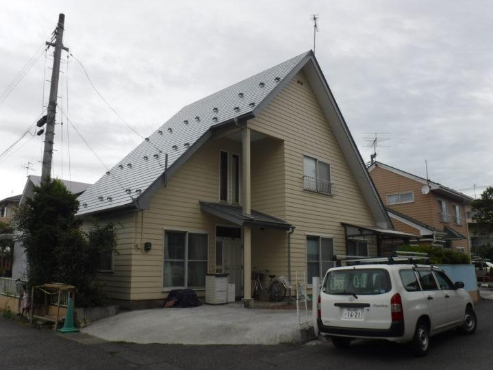 【郡山市】S様邸 屋根塗装・外壁・付帯塗装