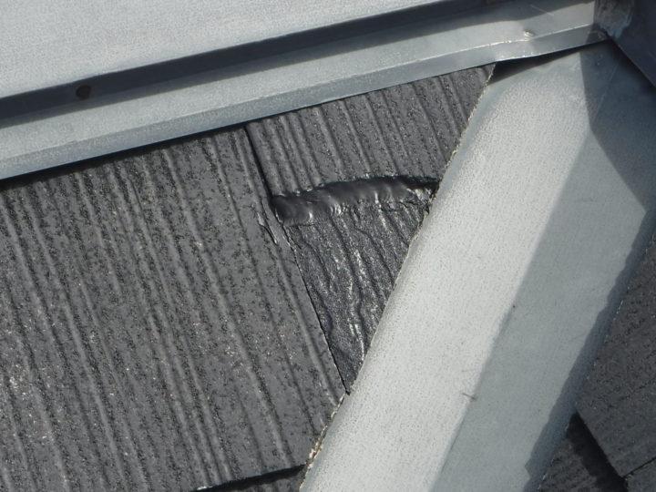 屋根塗装のスレート瓦補正後