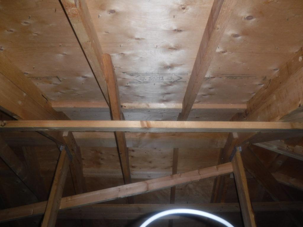 郡山市 屋根 塗装 雨漏り 染み