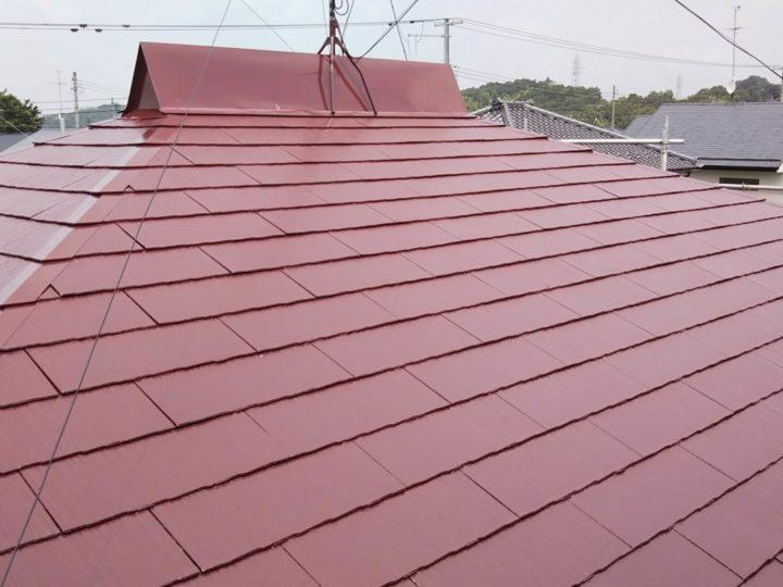 【郡山市】A様邸屋根塗装
