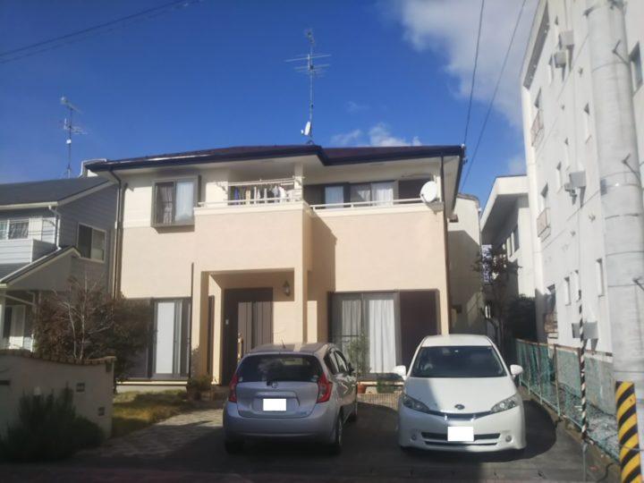 【郡山市】屋根・外壁・付帯塗装工事 T様邸