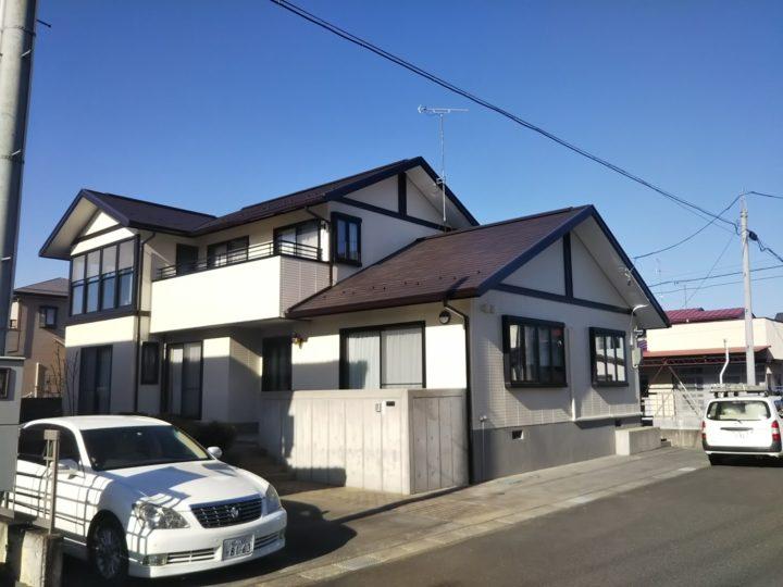 【郡山市】屋根・外壁・付帯塗装工事 O様邸
