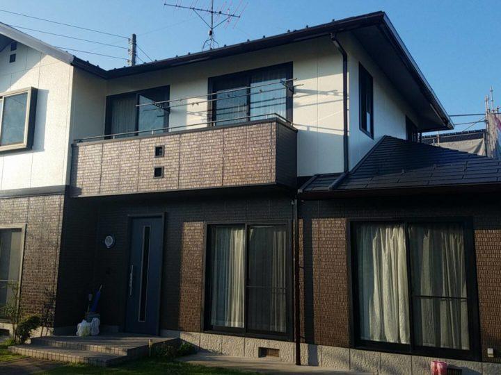 【郡山市】屋根・外壁・付帯塗装工事 S様邸