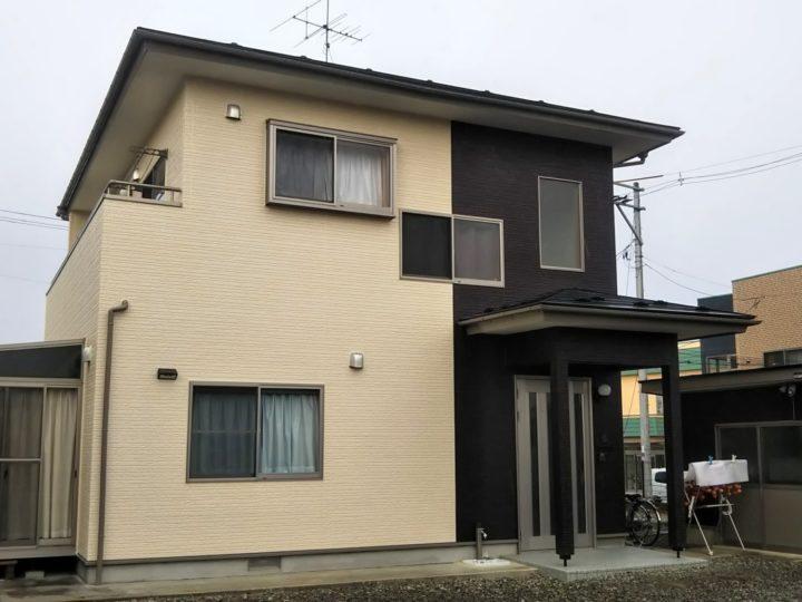 【郡山市】屋根塗装・外壁塗装・付帯塗装 K様邸
