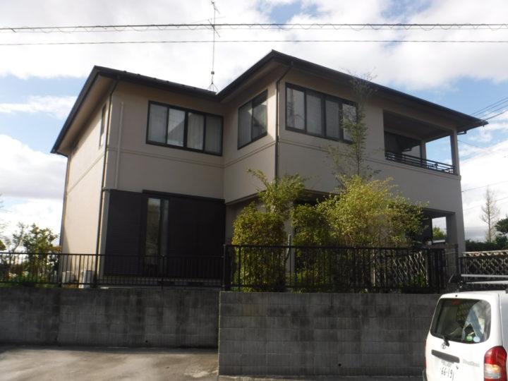【郡山市】屋根塗装・外壁塗装・付帯塗装 S様邸