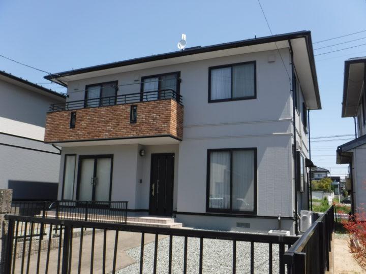 【郡山市】屋根塗装・外壁塗装・付帯塗装・タイル重ね張り Y様邸