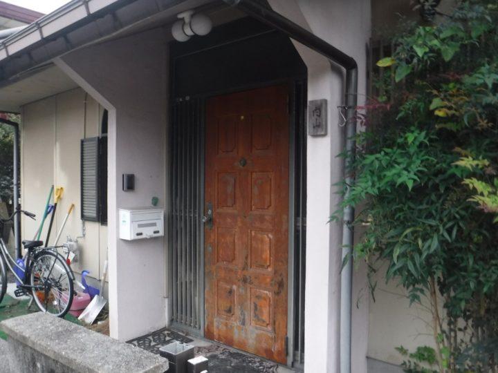 ドア施工前