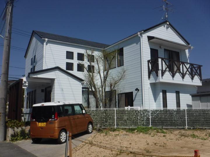 【郡山市】屋根塗装・外壁塗装・付帯塗装・木部塗装 K様邸