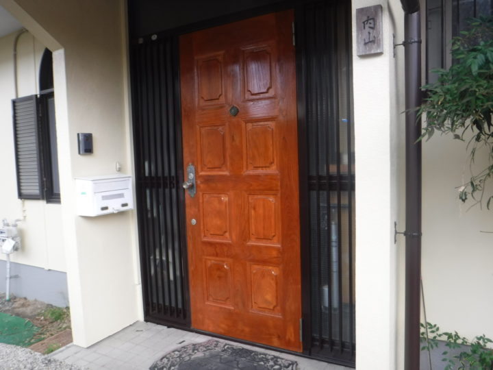 ドア施工後