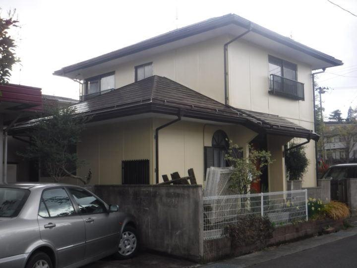 【郡山市】屋根・外壁・付帯・木部塗装 U様邸