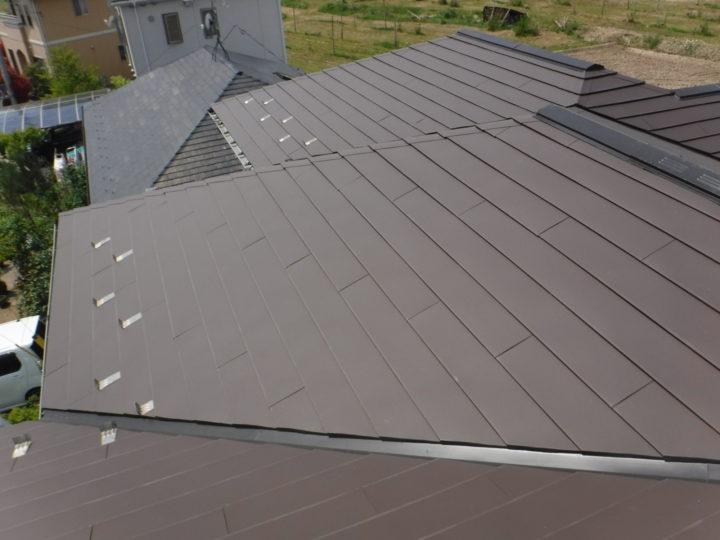 【郡山市】屋根塗装・外壁塗装・付帯塗装・屋根重ね葺き K様邸