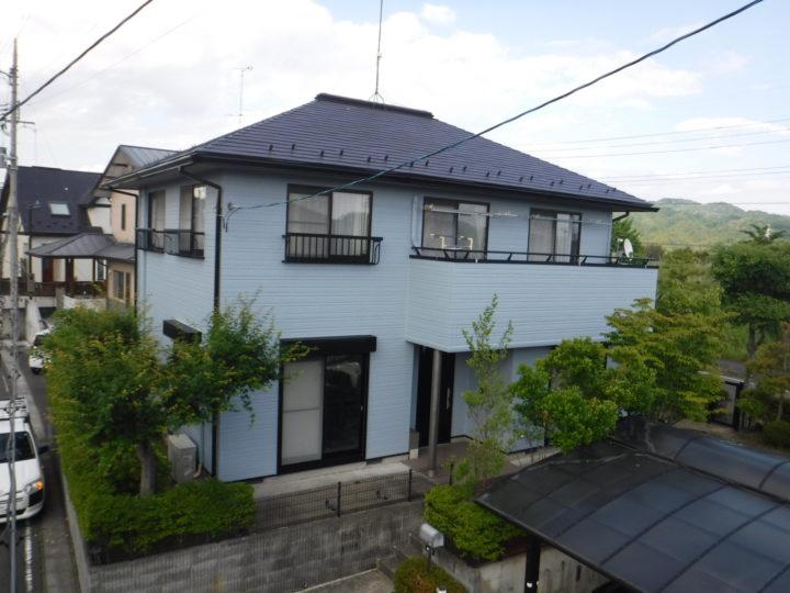 【郡山市】屋根・外壁・付帯塗装工事 W様邸