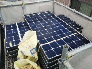 郡山市 ソーラー脱着 屋根重ね葺き 屋根塗装 屋根カバー