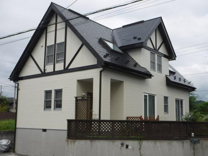 【郡山市】屋根・外壁・付帯塗装工事 K様邸