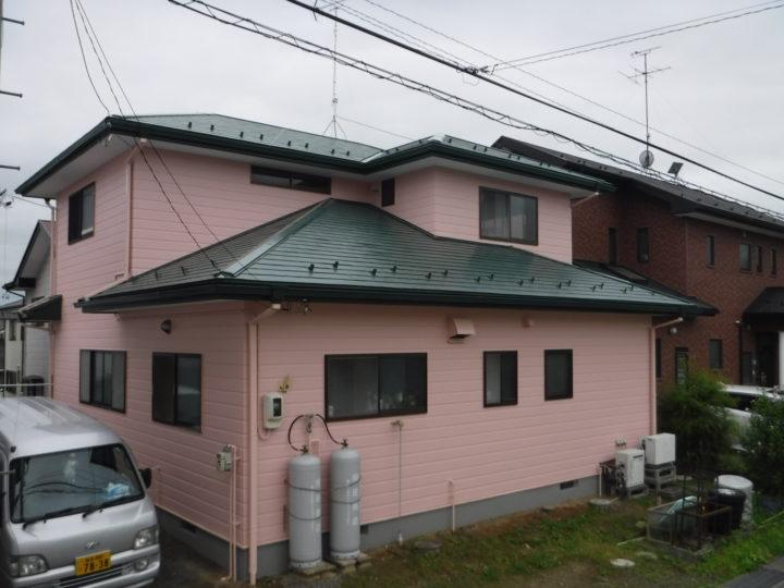 【須賀川市】屋根・外壁・付帯塗装工事 M様邸