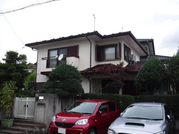 【郡山市】屋根重ね葺き 外壁・付帯塗装工事 I様邸