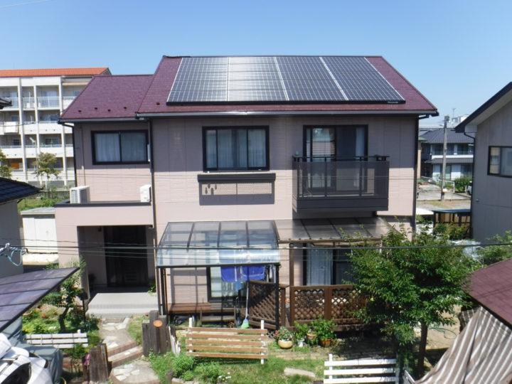 【福島市】S様邸 屋根外壁他塗装
