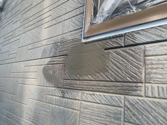 外壁 補修完了