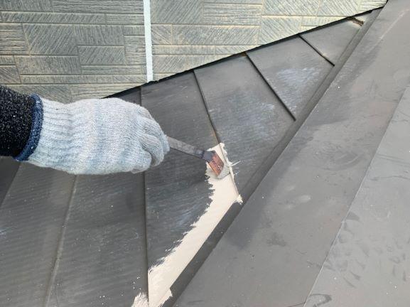 屋根 ダメ込み状況