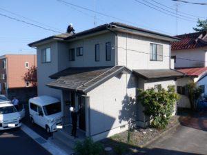 屋根重ね葺き・外壁塗装